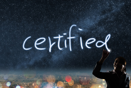 you are certified